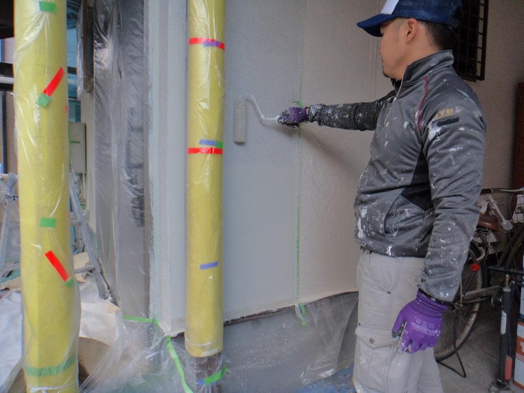 大阪府八尾市安中町でセラミック塗装-建築塗装・防水工事の事なら宮川塗装