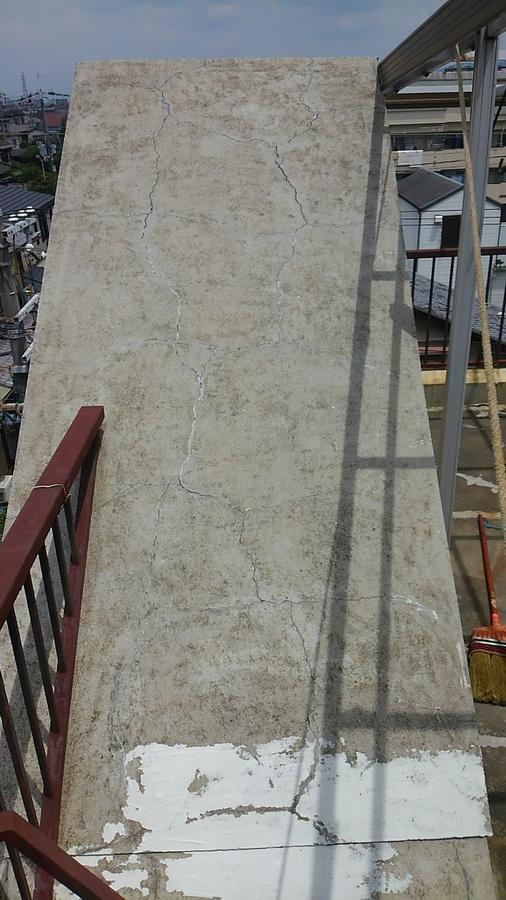 大阪府八尾市山本町で塔屋の雨漏り補修 – 塗装、防水なら宮川塗装