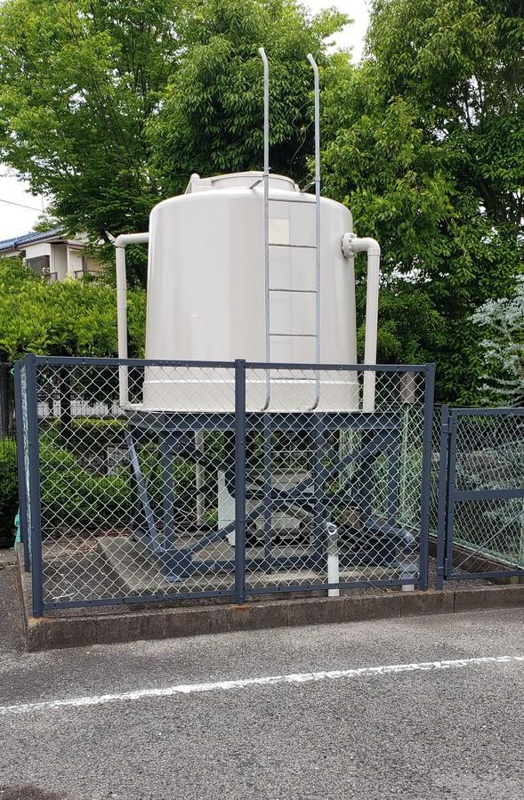 大阪府八尾市で貯水槽の塗替え工事