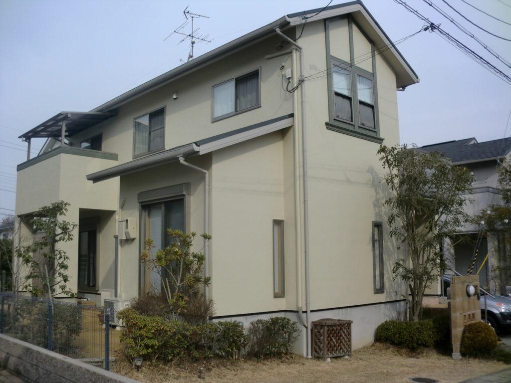 奈良県香芝市高山台 K様邸カラ―ベスト屋根・外壁塗装工事