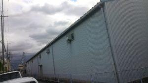 大阪府八尾市弓削町で工場の外壁塗装   宮川塗装