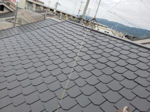 八尾市旭ヶ丘で屋根塗装完了