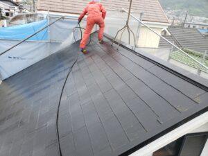 八尾市東山本新町で外壁と屋根洗浄