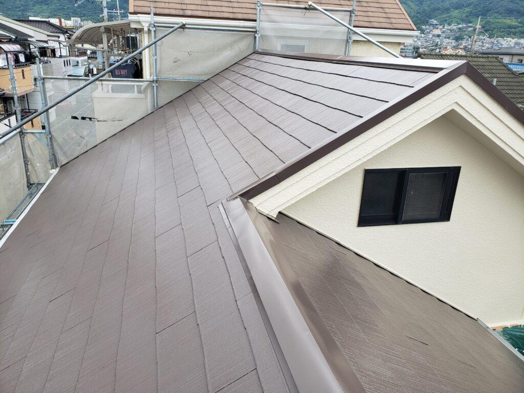 カラーベスト屋根塗装