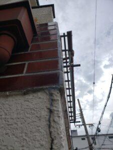 外壁タイル剥離